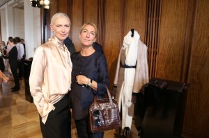 RAPHAELA SCHILLING WITH CHRISTIANE ARP - VOGUE CHIEF EDITOR