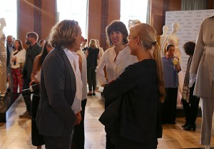 RAPHAELA AND FRANK SCHILLING  WITH KATHRIN SCHIFFNER (FASHION EDITOR VOGUE)